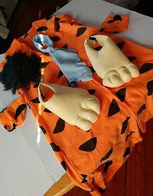 fred flintstone halloween costume complete sz xl mens rtl 35 - Flinstones Halloween
