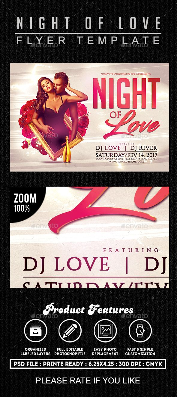 153 best Valentineu0027s Flyer Templates images on Pinterest Flyer - free printable flyer templates