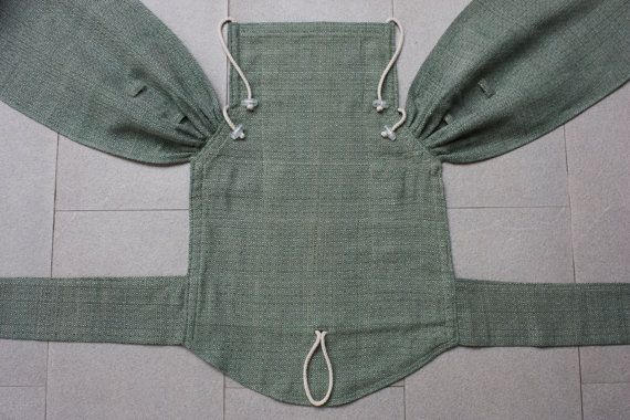 BaBy SaBye Wrap Mei Tai sling hand-woven with a hood by BaBySaBye