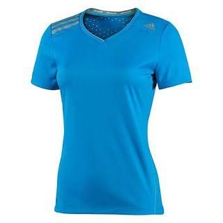 Kaos Running Adidas Women's Climachill Tee   Belanja murah online