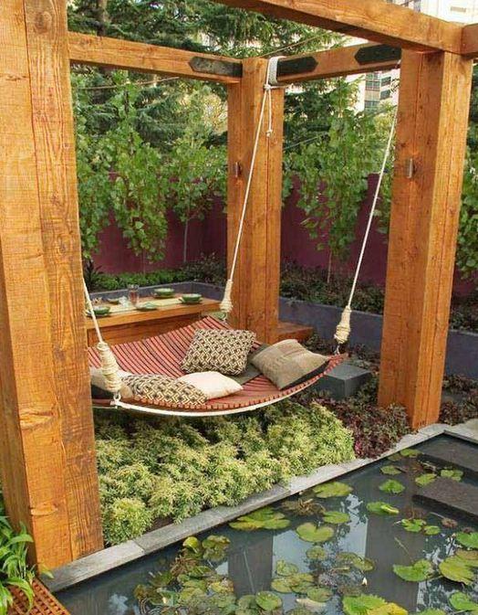 Unique furniture for the garden