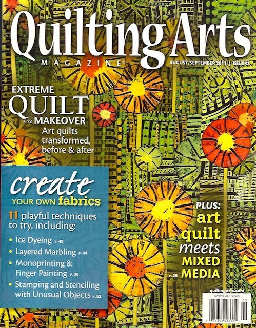 Well, I'm back playing with fabric, but this time it's marbling. Marbling has never been one of my favorite surface designs until I saw Jo Fitsell demo it on Quilting Arts TV. I taped that show and watched it several … Continue reading →