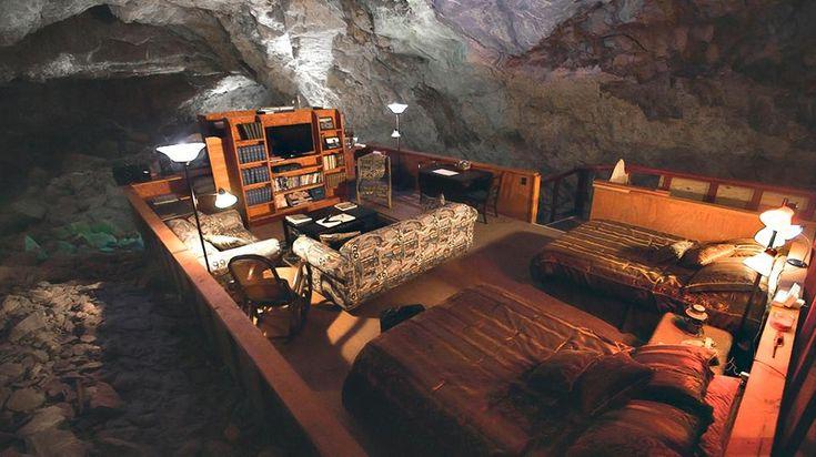 Grand Canyon Cavern SuiteDeep Sleep: Inside The World's Most Amazing Underground Hotels
