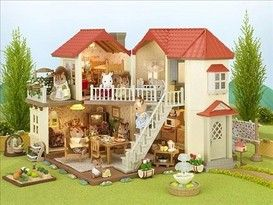 Sylvanian City House With Lights