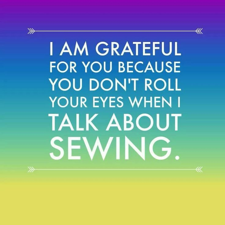 Now that's a bosom friend! #sewing #quilting