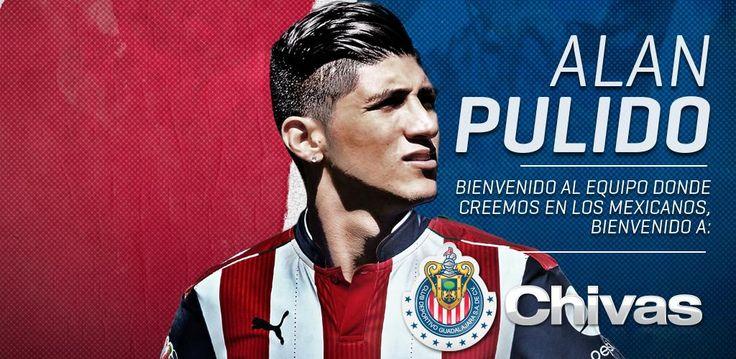 CHIVAS OFICIALIZA FICHAJE DE ALAN PULIDO Este martes, la directiva del equipo mexicano emite un comunicado a través de Twitter. Formará parte de las filas del cuadro para el Torneo Apertura 2016.