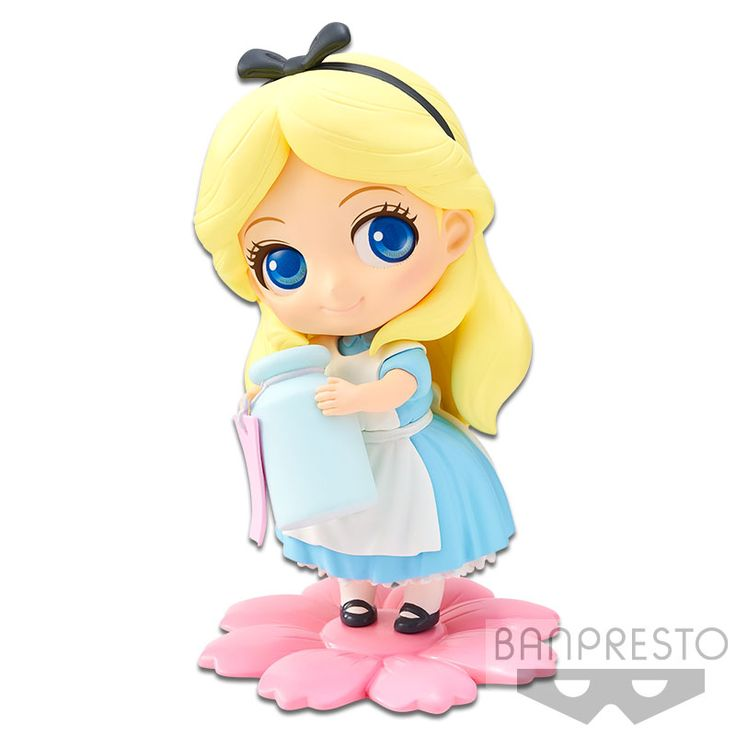 Banpresto Disney Characters Q posket petit Alice Cinderella Jane 3set kawaii