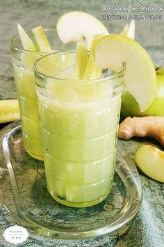 Detox cetriolo zenzero mela verde