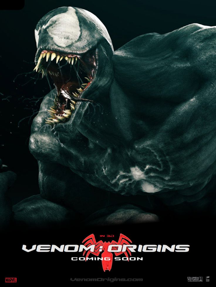 venom origins 2016 marvel movies pinterest venom. Black Bedroom Furniture Sets. Home Design Ideas