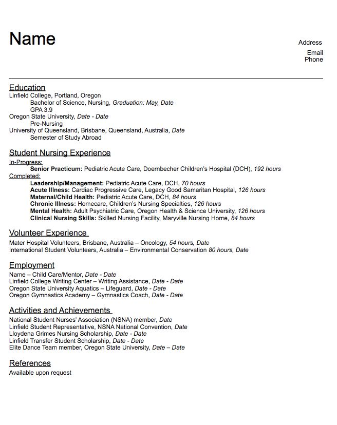 925 best Example Resume CV images on Pinterest Resume cv - volunteer resume template