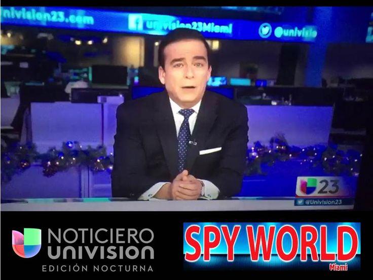 Visita de Noticiero Univision a Spy World Miami, Diana montano, entrevistando a Steve Gonzalez, Director General de Spyworldmiami #univision #miami#miamibeach #spystore #spygps #spy #dianamontaro #noticias #noticierounivision #coralgables #noticias #español #castellano #latino
