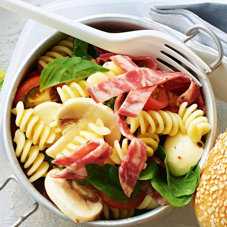 Pasta Salad for the kids lunchbox!