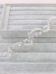 Donne Strass Copricapo-Matrimonio / Occasioni speciali / Formale Tiare / Fasce 1 pezzo