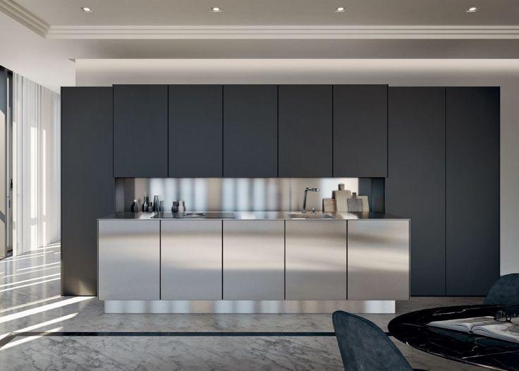 SieMatic PURE #steel #luxury