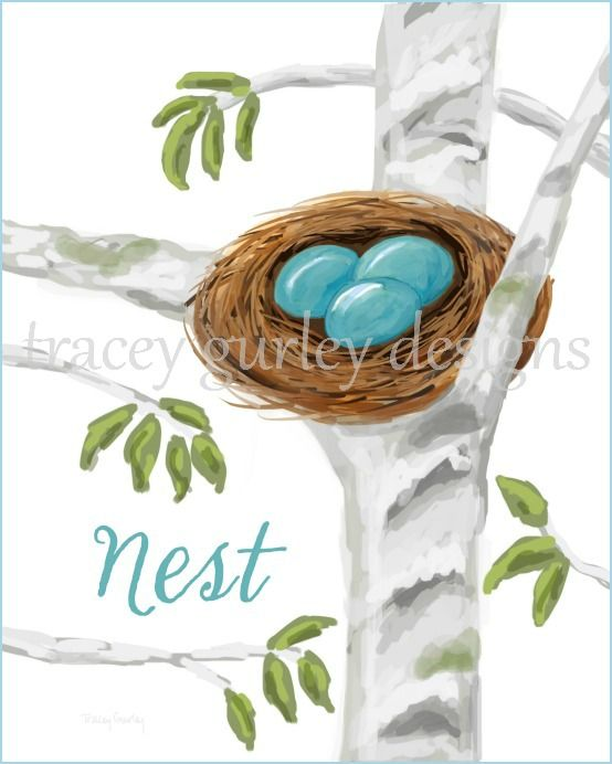 Nest Free Printable | A Tracey Gurley Designs Original | available only at onsuttonplace.com