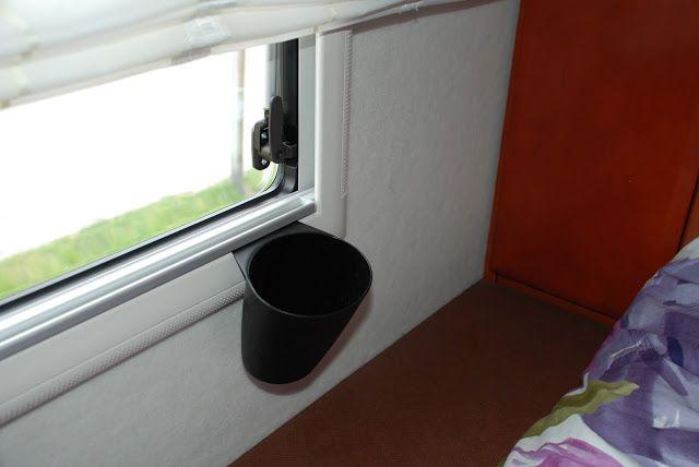 Sanna's RV life-Sannas husbilsliv: #7 Extra bedside storage- Extra förvaring vid säng...