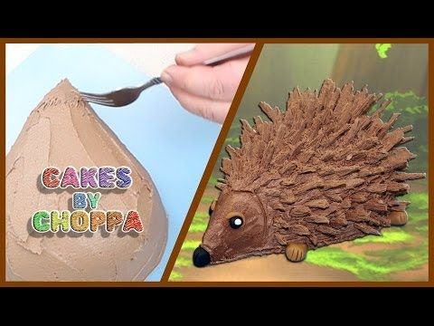 Chocolate Porcupine Cake (How To) - YouTube