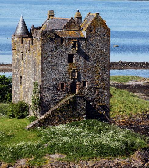 Castle Stalker Oban Scotland UK