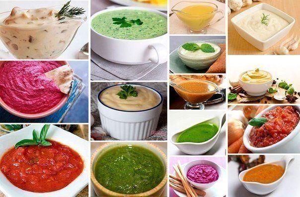 22 соуса на любой вкус Вкусные привычки