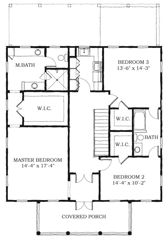 Historic southern house plan 73746 for Historic southern house plans