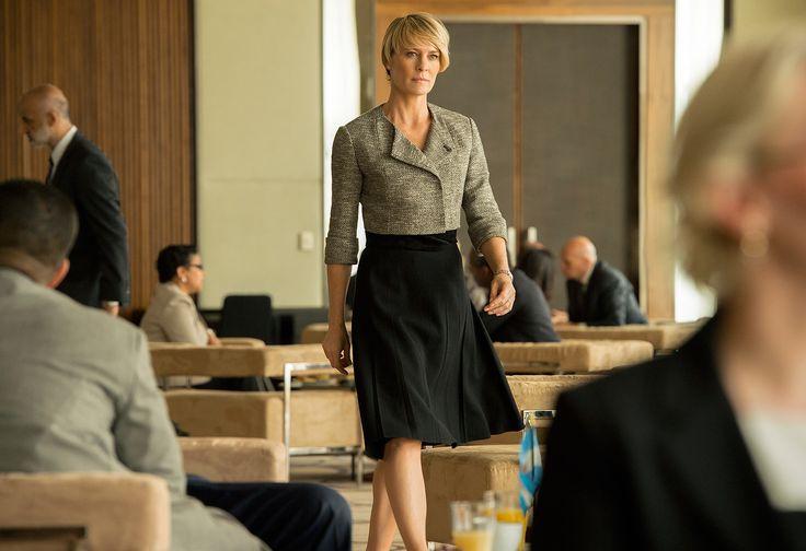 Claire Underwood, el estilo de la esposa del presidente