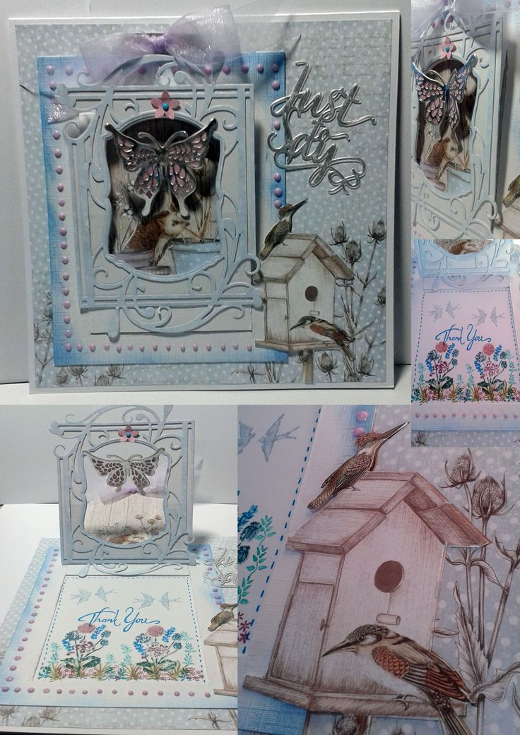 A Thank you card, #tonic dies, craftwork cards papers