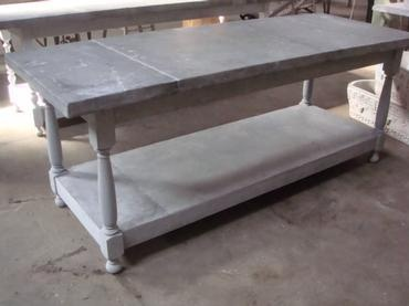 Mecox Gardens Zinc Top Kitchen Island Say No More Zinc Islands Available At Ecustomfinishes