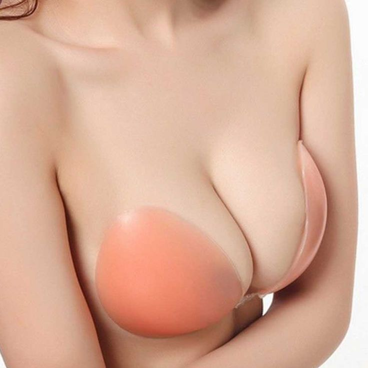 Silicone-Self-Adhesive-Stick-on-Gel-PushUp-Strapless-Backless-Invisible-Nude-Bra #Discount#Sale#FreeShipping