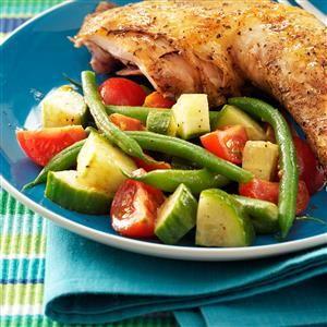 Green Bean & Balsamic Salad Recipe