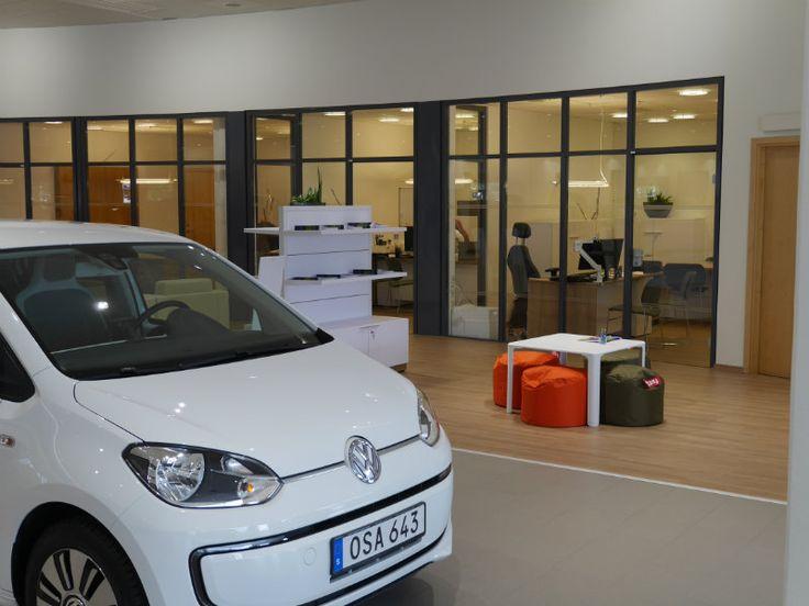 How Pergo laminate helped shape the Volkswagen showrooms at Bilcentrumgruppen   Pergo