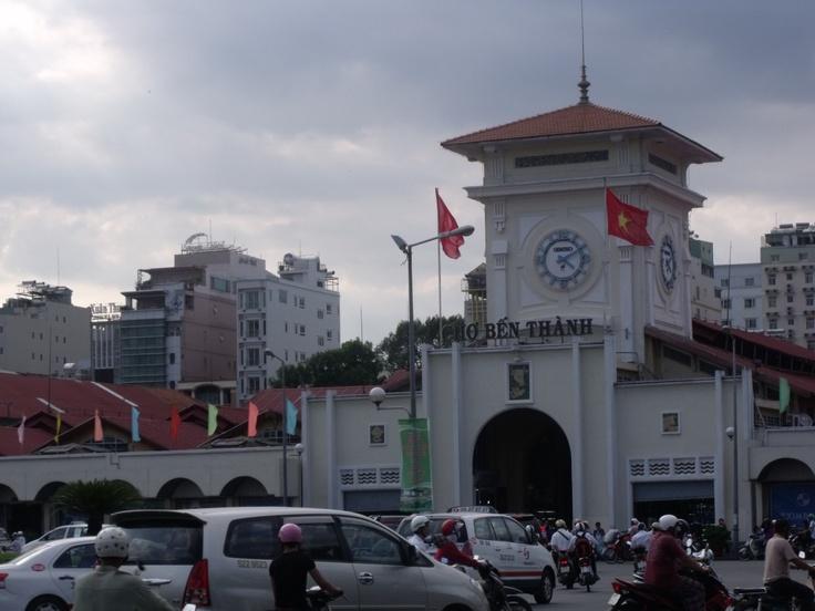 Cho Ben TAnh- Ho Chi Minh City Vietnam