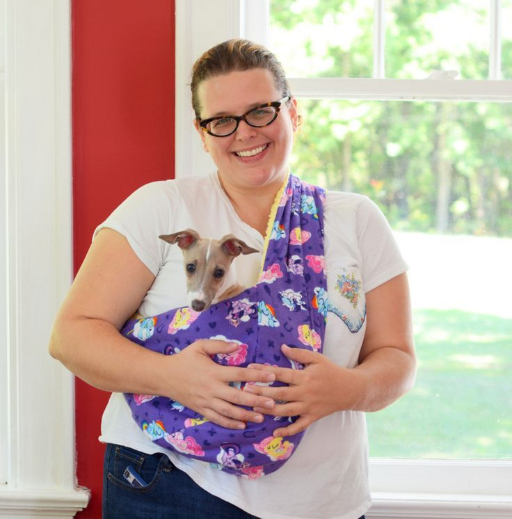 DIY Soft and Cozy Pet Sling - My So Called Crafty LifeMy So Called Crafty Life