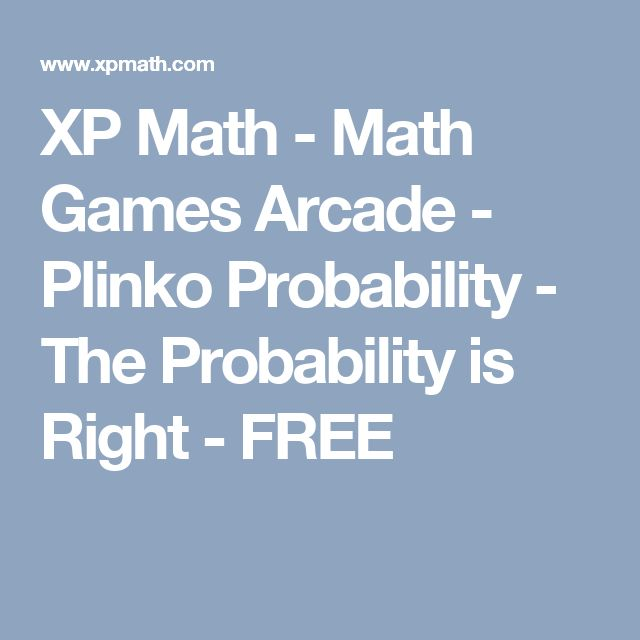 XP Math - Math Games price is right Arcade - Plinko Probability - The Probability is Right - FREE
