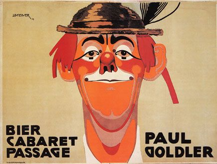 Paul Goldler Bier Cabaret Vintage French Posters Wall Art — MUSEUM OUTLETS