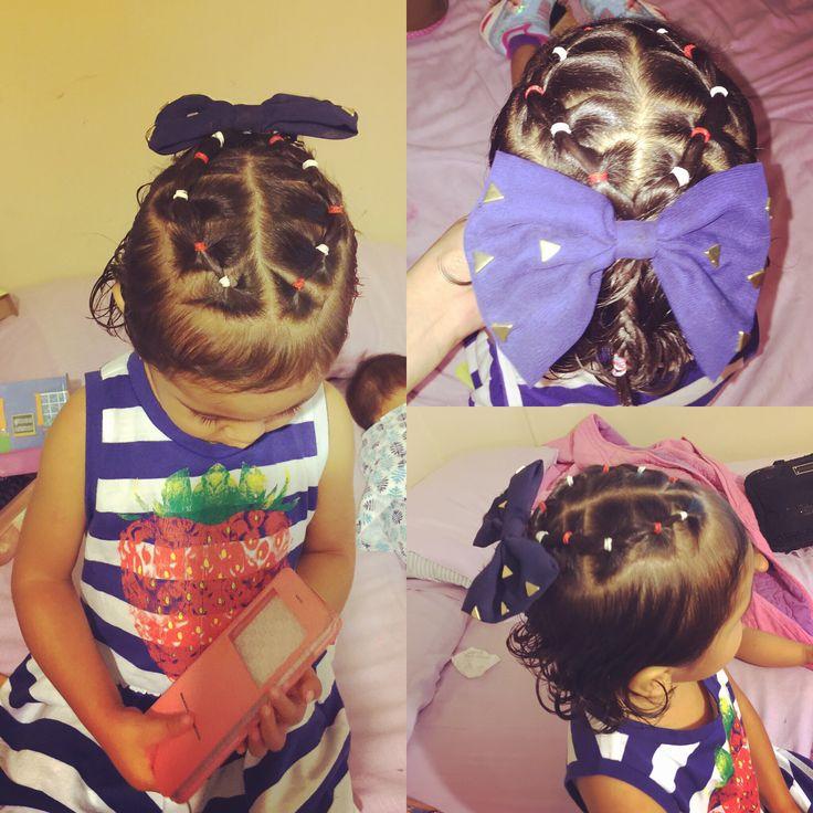 Aleah's hair do