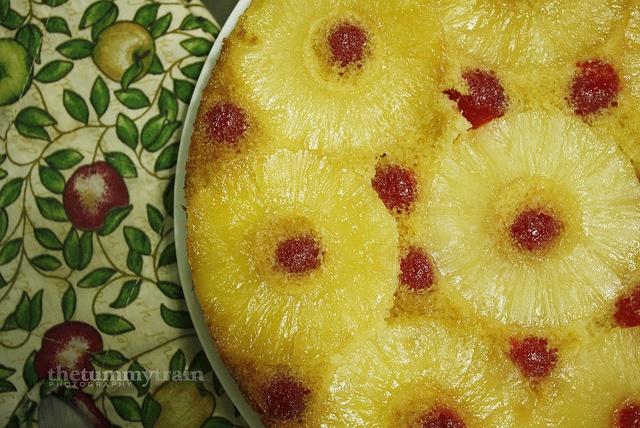 Pineapple Upside-Down Cake by clapanuelos, via Flickr