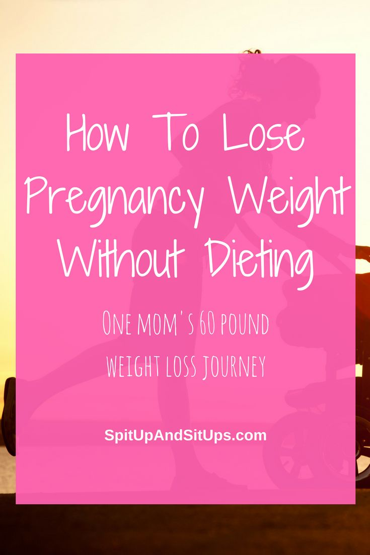 How To Lose Pregnancy Weight Without Dieting via @ashleysuasu
