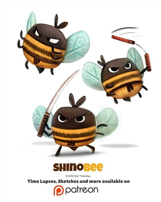 Day 1398. Shinobee by Piper Thibodeau