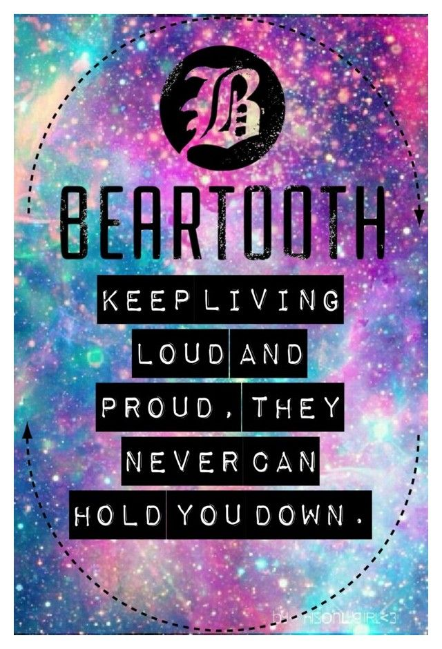 """""""Beaten in Lips // Beartooth (Edit)"""" by youre-555-im-666 on Polyvore featuring art"""