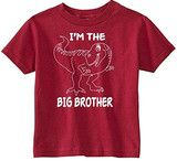 Lil Shirts Big Brother X 2 Little Boys youth & Toddler Shirt made from 100% cotton knit 5.2 oz