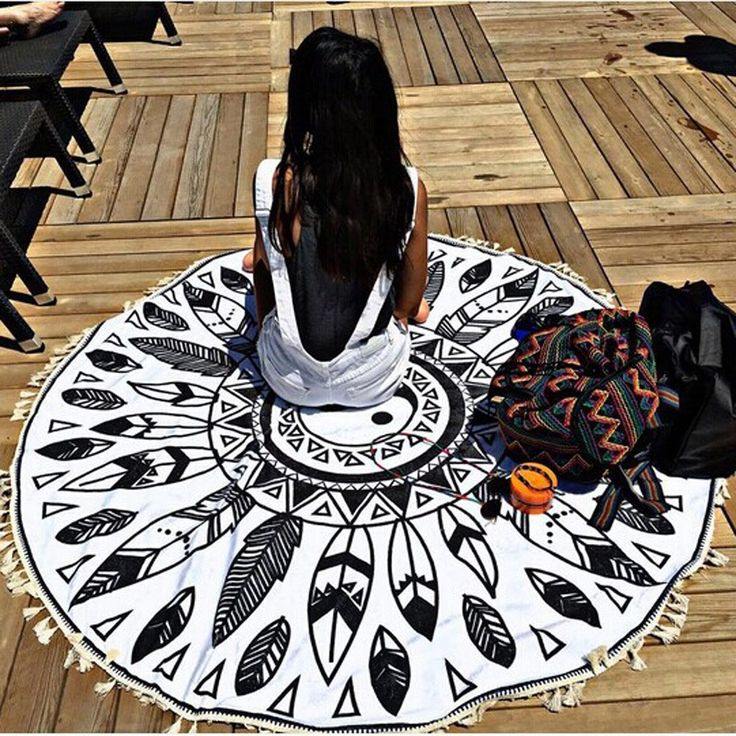 Indian Style Blanket, Towel, Tablecloth #mandala #mandalapattern #mandalatapestry #tapestry #pattern #zen #meditation #beachtowel #beachblanket #tablecloth #yogamat #indian #indiantowel #indianblanket #indiantapestry #wallhanging #hippie
