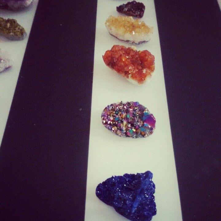 New druzy stones i love