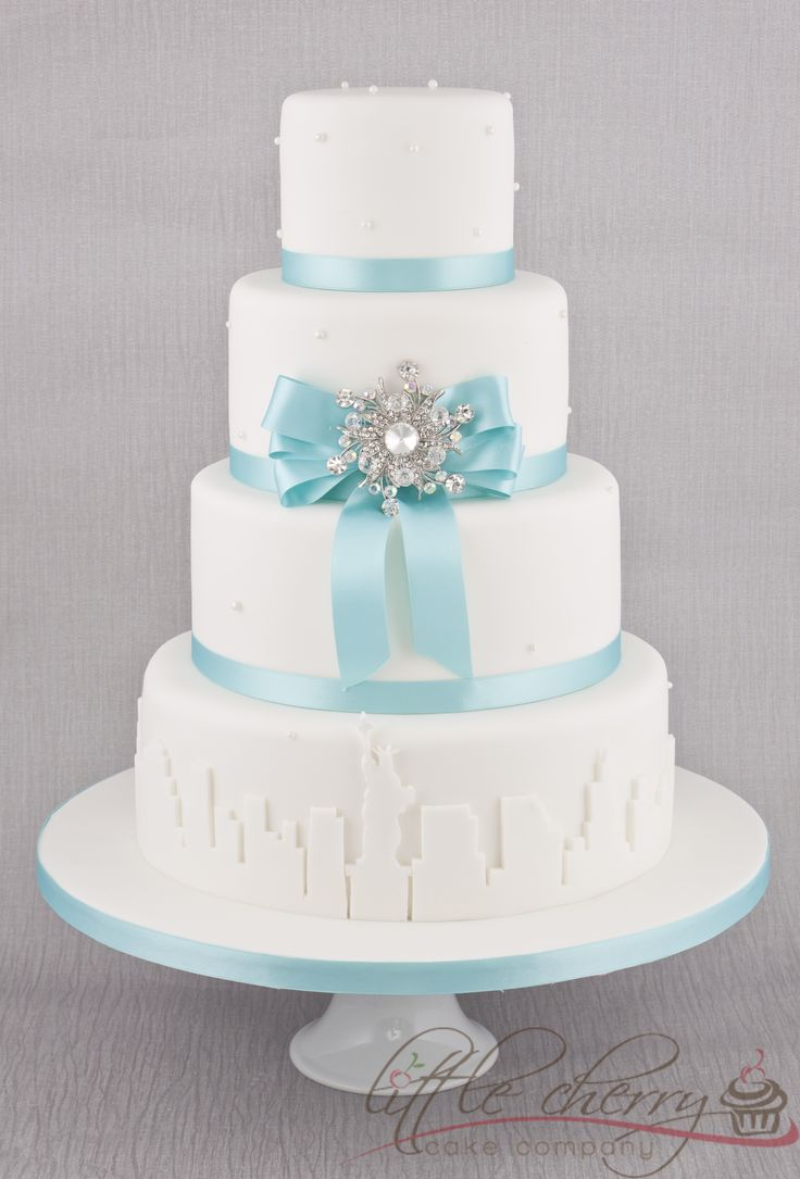 The 452 best Tiffany images on Pinterest | Cake wedding, Anniversary ...