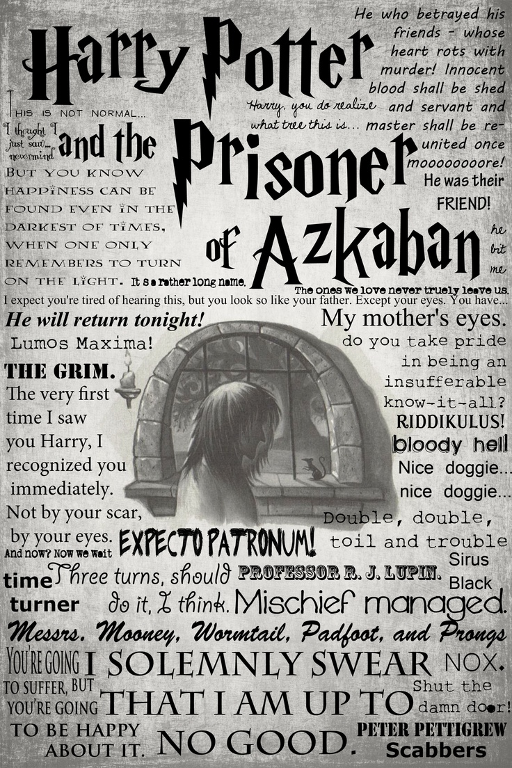 Prisoner of Azkaban Quotes. | Everyone Should Know ...