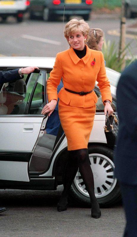 Księżna Diana na otwarciu szpitala w Liverpoolu, 1995 rok, fot. East News