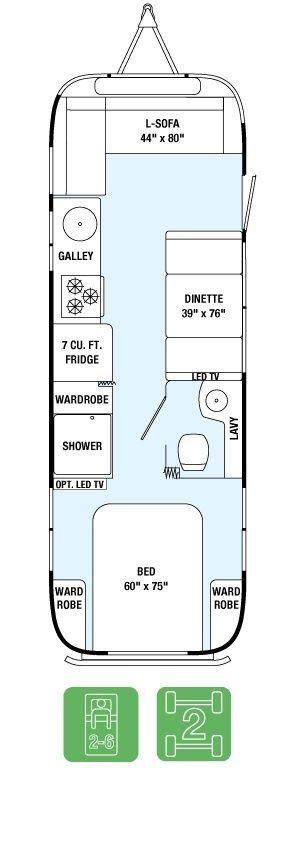 Floor Plans - International Serenity 28