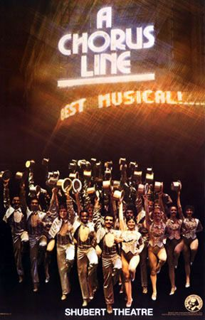 A Chorus Line - my all time favorite broadway show. Great memories :)