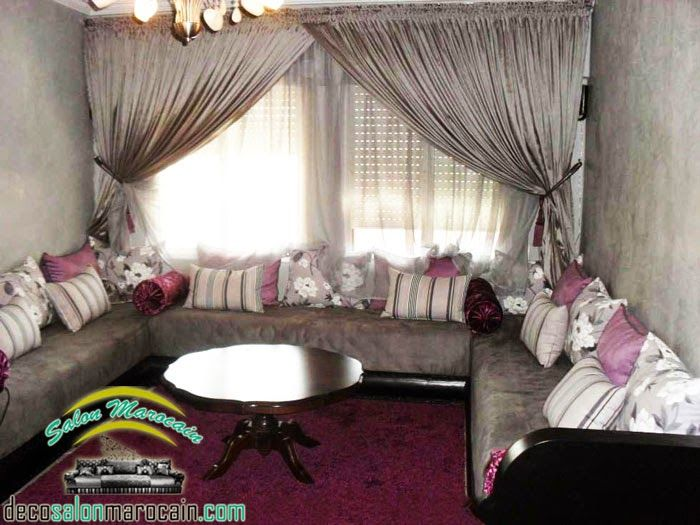 25 best ideas about les salons marocains on pinterest. Black Bedroom Furniture Sets. Home Design Ideas