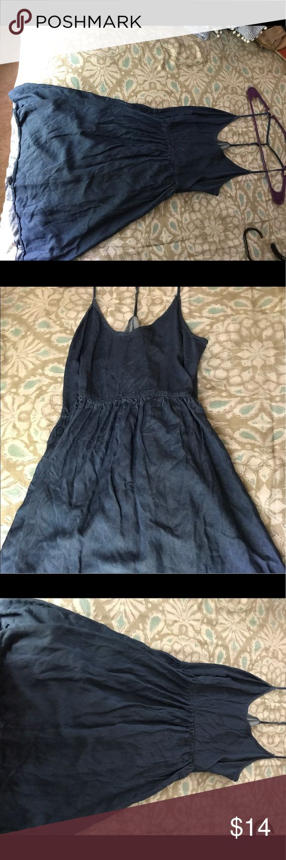 Denim Skater Dress A light and casual denim dress that works perfectly for a daytime event . Dresses Mini