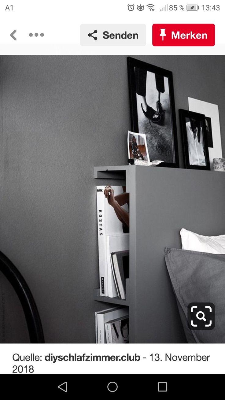 pingl par golo tews sur nachttisch en 2019 t te de lit. Black Bedroom Furniture Sets. Home Design Ideas